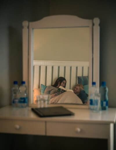 Trennerys Hotel Room Mirror